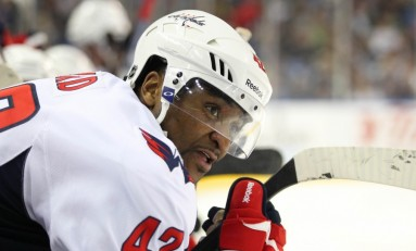 Q & A with Joel Ward of the Washington Capitals