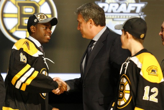 Boston Bruins Top Prospects Malcolm Subban