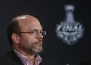 Neely wasted no time when he fired Chiarelli just days after the 2014-15 season ended. (Jerry Lai-USA TODAY Sports)