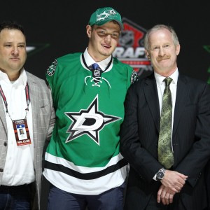 Valeri Nichushkin has come on strong as of late, even seeing limited time with the Stars' big guns Jamie Benn and Tyler Seguin. (Ed Mulholland-USA TODAY Sports)