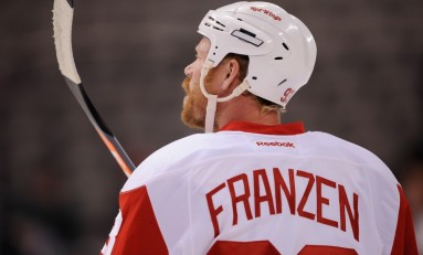 Johan Franzen Cleared to Play