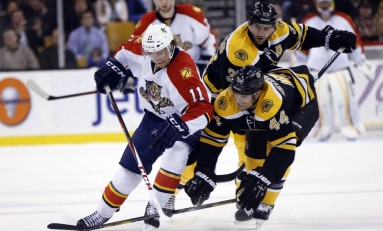 Panthers' Huberdeau Being Blatantly Misused