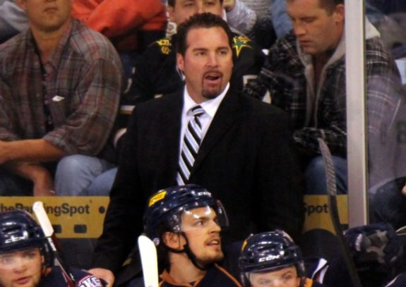 Grand Rapids Griffins Head Coach Todd Nelson