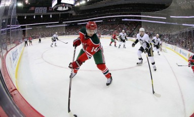 New Jersey Devils Celebrate Retro Night