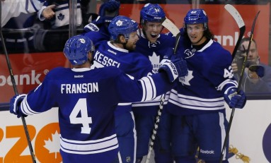 Hit-Happy Leafs and Senators Set for Battle of Ontario