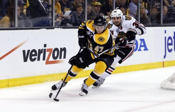 Boston Bruins Three Up Three Down Torey Krug
