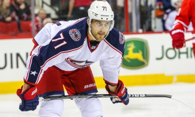 Few Surprises Among Blue Jackets Camp Forward Groups