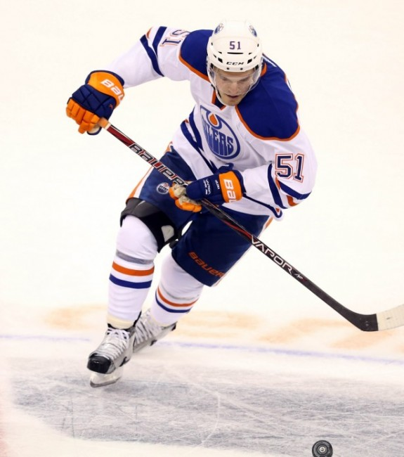 (Bruce Fedyck-USA TODAY Sports) Anton Lander is really lighting it up for my fantasy teams this season — no, no he is not. Lander is somehow pointless after 20 games and part of the reason the Oilers are tied for last-place overall yet again.