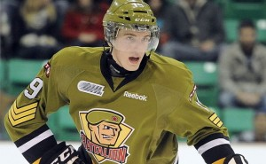 Blake Clarke is the Battalion's most impressive young player (OHL Images)