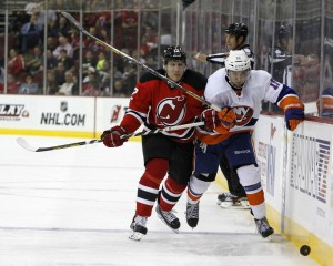 Will the return of Damien Brunner be enough to sparks the Devils to a playoff run? (Noah K. Murray-USA TODAY Sports)