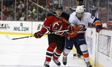 Q & A with Damien Brunner of the New Jersey Devils