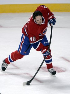 Former-Montreal Canadiens forward Daniel Briere