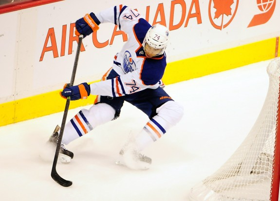 Darnell Nurse is the Oilers' top young defenseman (Anne-Marie Sorvin-USA TODAY Sports)