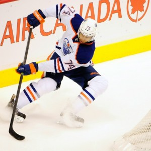 Darnell Nurse could push for a spot on the Oilers blueline (Anne-Marie Sorvin-USA TODAY Sports)