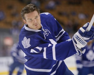 Former-Toronto Maple Leafs forward David Clarkson