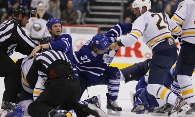 Maple Leafs vs Sabres Line Brawl: The Good, The Bad, and The Ugly