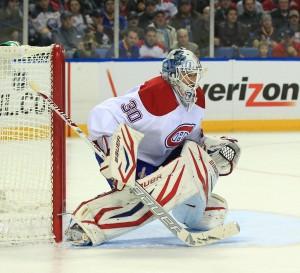 Former Montreal Canadiens goalie Peter Budaj