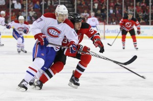 Montreal Canadiens forward Rene Bourque