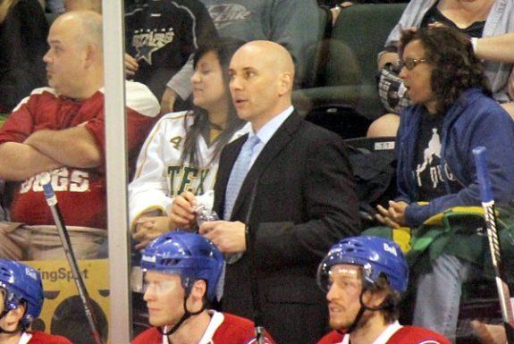 Ex-Laval Rocket head coach Sylvain Lefebvre