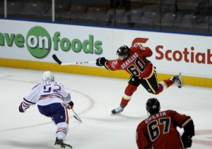 "Ryan Culkin (bottom) could turn pro this season. (photo courtesy ""bc-chris"" at the CalgaryPuck forums)"
