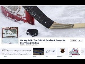 Hockey Talk Facebook group