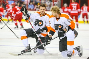 The Flyers and Jakub Voracek are growing in confidence as they enter the playoffs.