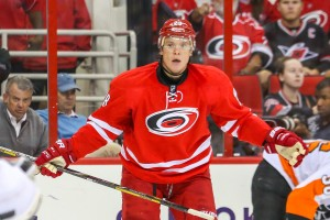 Carolina Hurricanes Alexander Semin - Photo By Andy Martin Jr