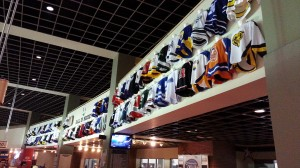 "Nationwide Arena's ""Hall of Hockey"" features every high school jersey worn in the State of Ohio"