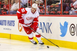 Detroit Red Wings Stephen Weiss  - Photo By Andy Martin Jr