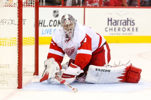 Detroit Red Wings – Jimmy Howard – Photo Credit: Andy Martin Jr