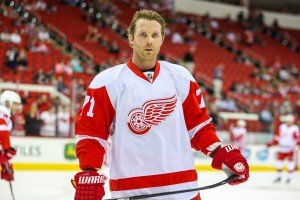 Detroit Red Wing Daniel Cleary - Photo By:  Andy Martin Jr