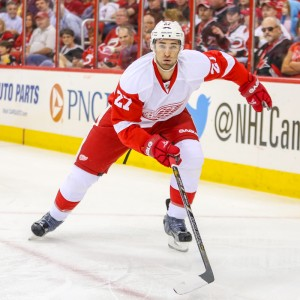Kyle Quincey is the best defenseman left on the market - Photo By Andy Martin Jr