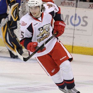 Calle jarnkrok was once a top prospect for in the Detroit Red Wings' system before being traded to Nashville (JENNFERLEIGHPHOTO)