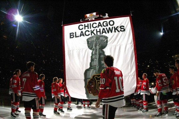 A part of that banner is thanks to the contributions of Johnny Oduya. (Rob Grabowski-USA TODAY Sports)