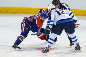 Third Line Centre Boyd Gordon leads Edmonton in points. (Sergei Belski-USA TODAY Sports)