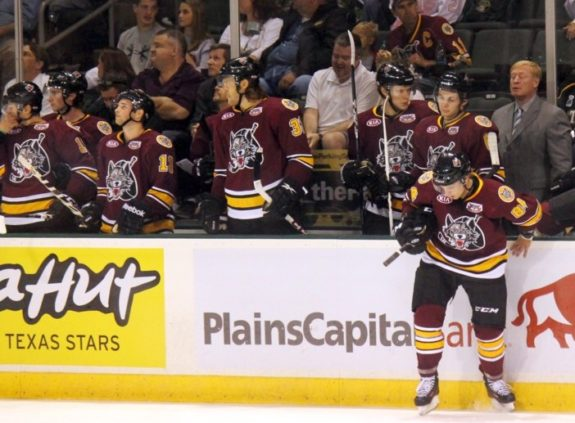 Chicago Wolves (Ross Bonander / THW)
