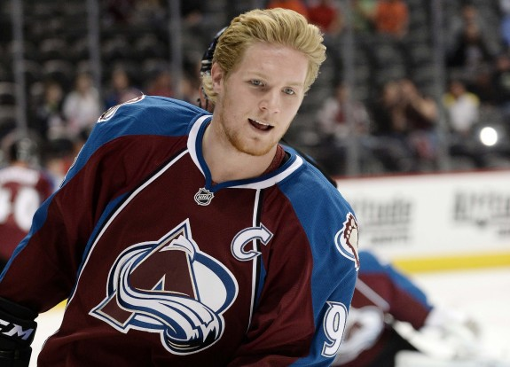 (Ron Chenoy-USA TODAY Sports) Colorado Avalanche captain Gabriel Landeskog was the consolation prize after the Oilers took Ryan Nugent-Hopkins first overall in 2011.