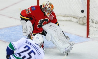Santorelli Saves the Canucks