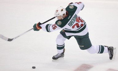 No Sophomore Slump for Jonas Brodin
