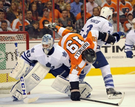 With Scott Hartnell and his 52 points now in Columbus, is trouble on the horizon for Philadelphia?