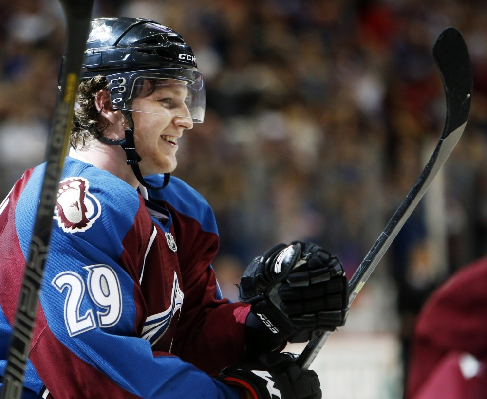 4a4ccc066b5 Will Nathan MacKinnon Be Slammed by the Sophomore Slump