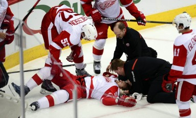 Hockey News: Sharks and Avs Lose; Kronwall Hurt