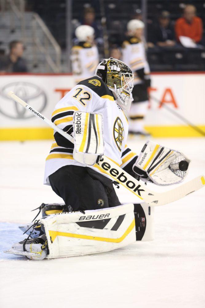 Niklas Svedberg Boston Bruins