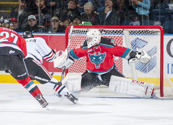 Jordan Cooke led the Rockets past Portland this weekend (photo whl.ca)