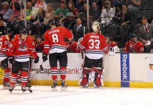 Rockford Ice Hogs (Ross Bonander / THW)