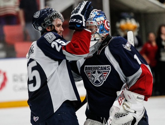 Winnipeg Jets prospect Eric Comrie is off to a great start for Tri City (photo whl.ca)