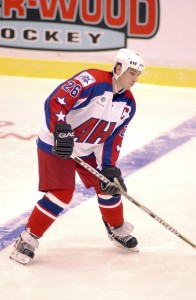 John Slaney was one of the Wilkes-Barre/Scranton Penguins' most popular players in the first season and went on to be an AHL All-Star and Calder Cup champion. (Photo courtesy of the Portland Pirates.)