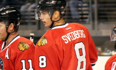 Blackhawks Give Viktor Svedberg 1-Year Extension