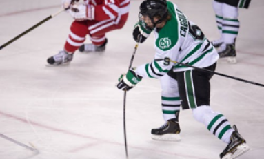 UND Hockey: Drake Caggiula Makes Speedy Recovery