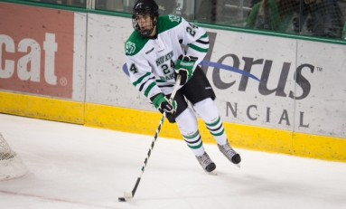 UND Hockey: Jordan Schmaltz Growing Into His Role